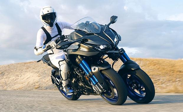 Yamaha'nın üç tekerlekli motosikleti Niken Türkiye'de satışa çıktı