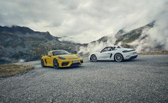 Porsche 718 Spyder ve 718 Cayman GT4 tanıtıldı! İşte özellikleri