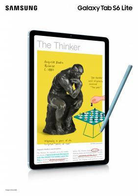 Yeni Galaxy Tab S6 Lite ile dilediğiniz yerde verimliliğinizi artırın