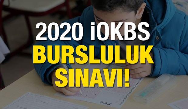 2020 İOKBS sınav tarihi açıklandı mı? İlk ve ortaokul bursluluk sınavı ne zaman? (MEB)