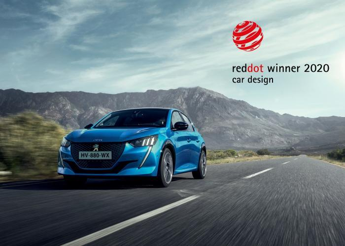 Peugeot'nun iki modeline 2020 Red Dot Tasarım Ödülü: Yeni 208 ve SUV 2008 tasarımlarıyla ödüllendirildi