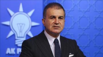 AK Parti'li Çelik: Türkiye'nin PKK'ya karşı mücadelesi, insani değerleri koruma mücadelesidir