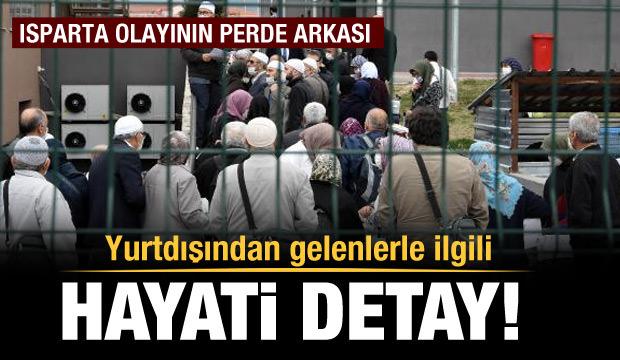 AK Parti'li Özel: Isparta'daki koronavirüs vakalarının 245'i misafir edilenler
