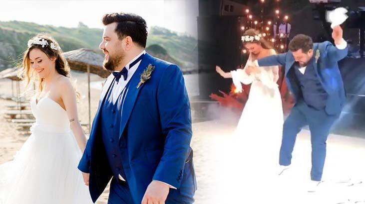 Berfu Yenenler: Düğünün ilk saatleri rezaletti!