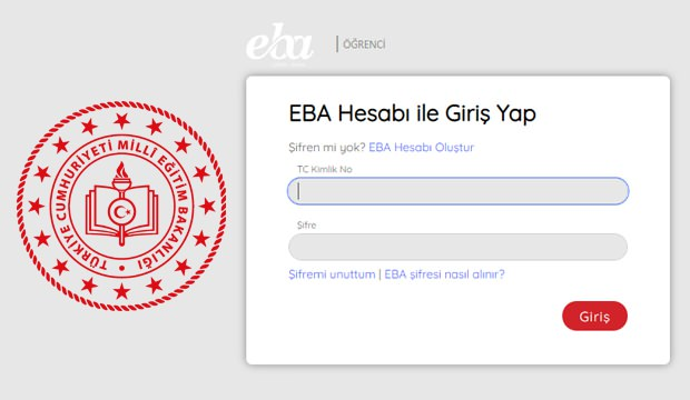EBA öğrenci giriş ekranı! 2020 EBA uzaktan eğitim şifre alma işlemi