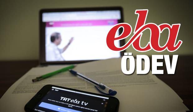 EBA üzerinden verilen ödevler nasıl yapılır? EBA TV 6 Nisan ders programı