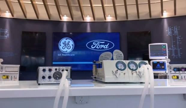 Ford solunum cihazı üretim hedefini açıkladı