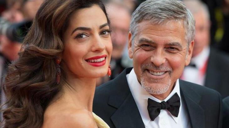 George ve Amal Clooney, corona virüs için bağış yaptı