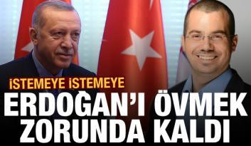 İsrailli gazeteci istemeye istemeye Erdoğan'ı övmek zorunda kaldı