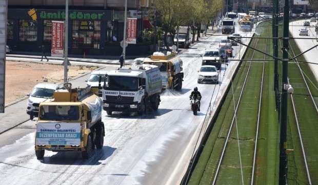 Şahinbey Belediyesinin korona tedbirleri göz doldurdu
