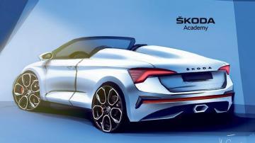 Skoda öğrencileri ödev için 'üstsüz araç' tasarlıyor…