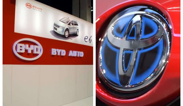Toyota ve Çinli BYD ortak oldu