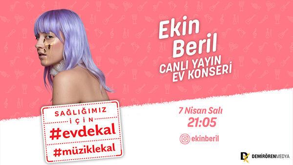 'Uzayın Dibi' ile Ekin Beril canlı yayında!