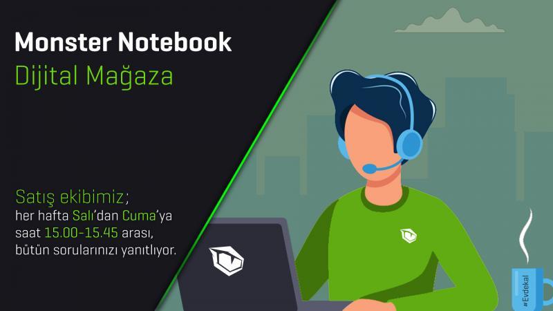 Monster Notebook'tan Müşteri Memnuniyetinde Fark Yaratan Uygulama: Dijital Mağaza
