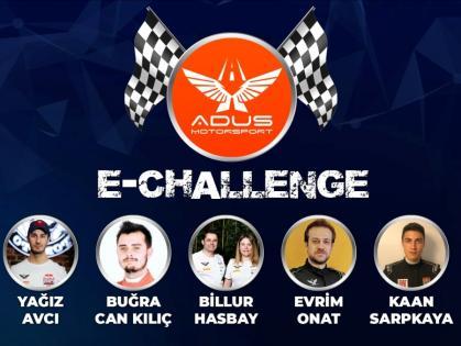 ADUS MOTORSPORT E-CHALLENGE İLE YARIŞ HEYECANINI EVİNİZE GETİRECEK