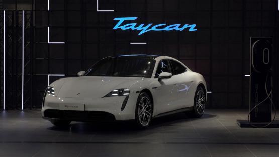 Porsche Taycan Türkiye'de