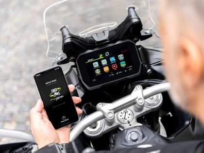 Bosch: Dünyanın motosikletlere yönelik, ilk tam entegre bölünmüş ekranı yollarda