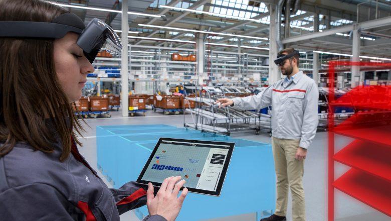Audi, lojistik planlamada Artırılmış Gerçeklik kullanıyor
