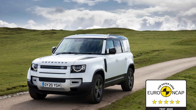 Yeni Land Rover Defender'a   Euro NCAP'ten 5 Yıldız