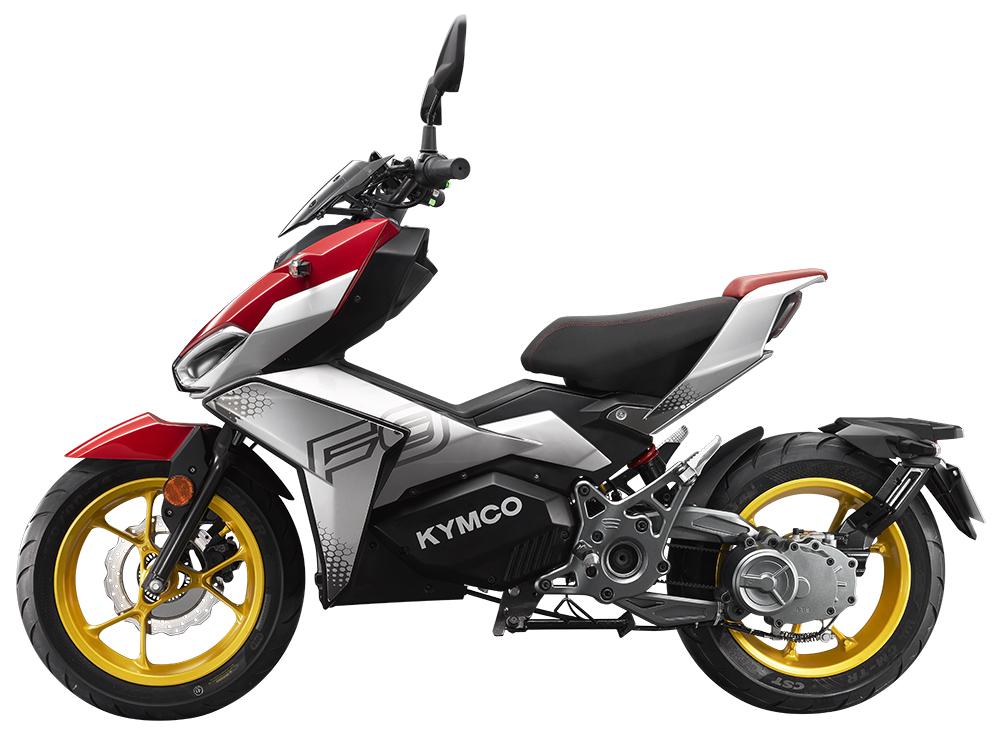 KYMCO F9, Elektrikli Motosiklet Algısını Kökünden Değiştirmeyi Hedefliyor