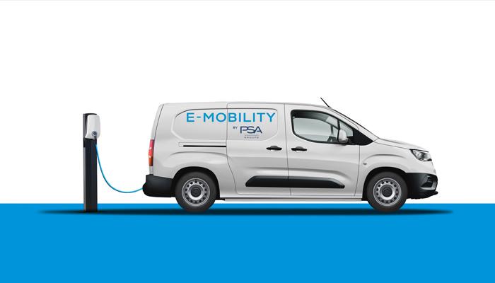 Groupe PSA 2021'de küçük van tipi araçlarının tamamen elektrikli versiyonlarını tanıtacak