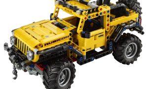 Yeni LEGO Technic™ Jeep Wrangler ile bütün dünyayı oyun alanınız yapın