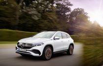 Mercedes-Benz'in tamamen elektrikli ilk kompakt SUV'si EQA tanıtıldı