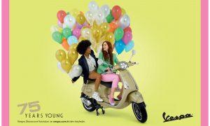 Dünyanın Motosiklet ve Moda İkonu Vespa 75 Yaşında