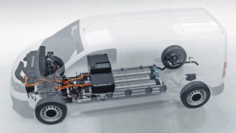 Opel Vivaro-e HYDROGEN, 3 Dakikada Şarj Oluyor ve 400 Kilometrenin Üzerinde Menzil Sunuyor