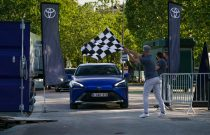 Hidrojen Yakıtlı Toyota Mirai'den Dünya Menzil Rekoru