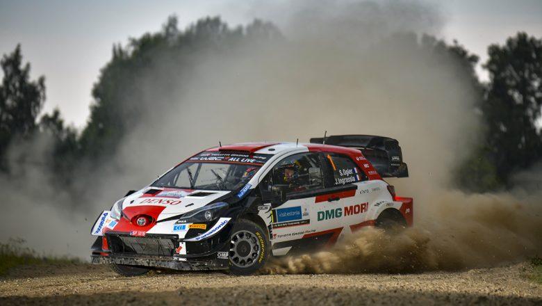Toyota Pilotu Rovanperä Rekor Kırarak Estonya Rallisi'ni Kazandı